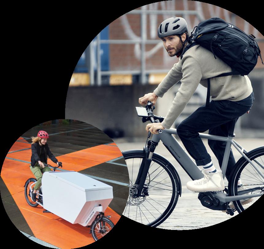 e-Bikes and e-Cargo Bikes for business